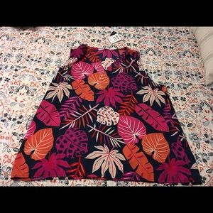 (NWT) {Violet + Claire} Floral Sleeveless Blouse